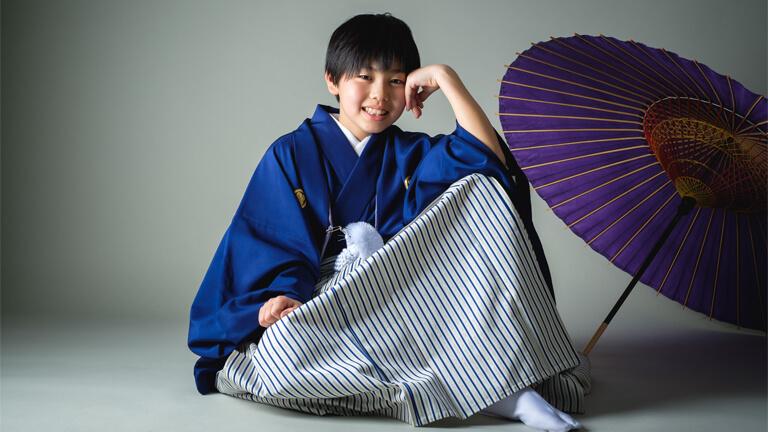 小学生男の子袴