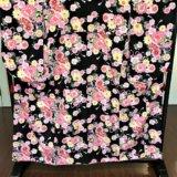099 黒ピンク花柄